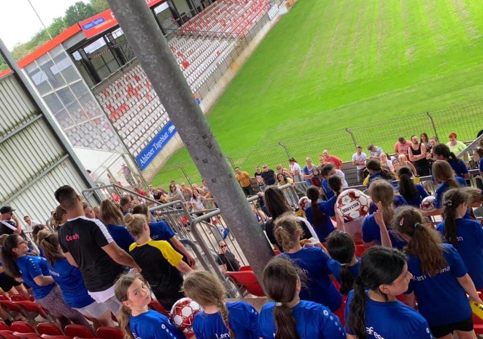 Mädchenfussballcamp 2020 wieder ein voller Erfolg